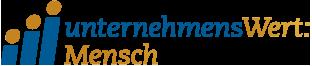 Logo: unternehmensWert:Mensch - Führt zur Startseite von unternehmsWert:Mensch